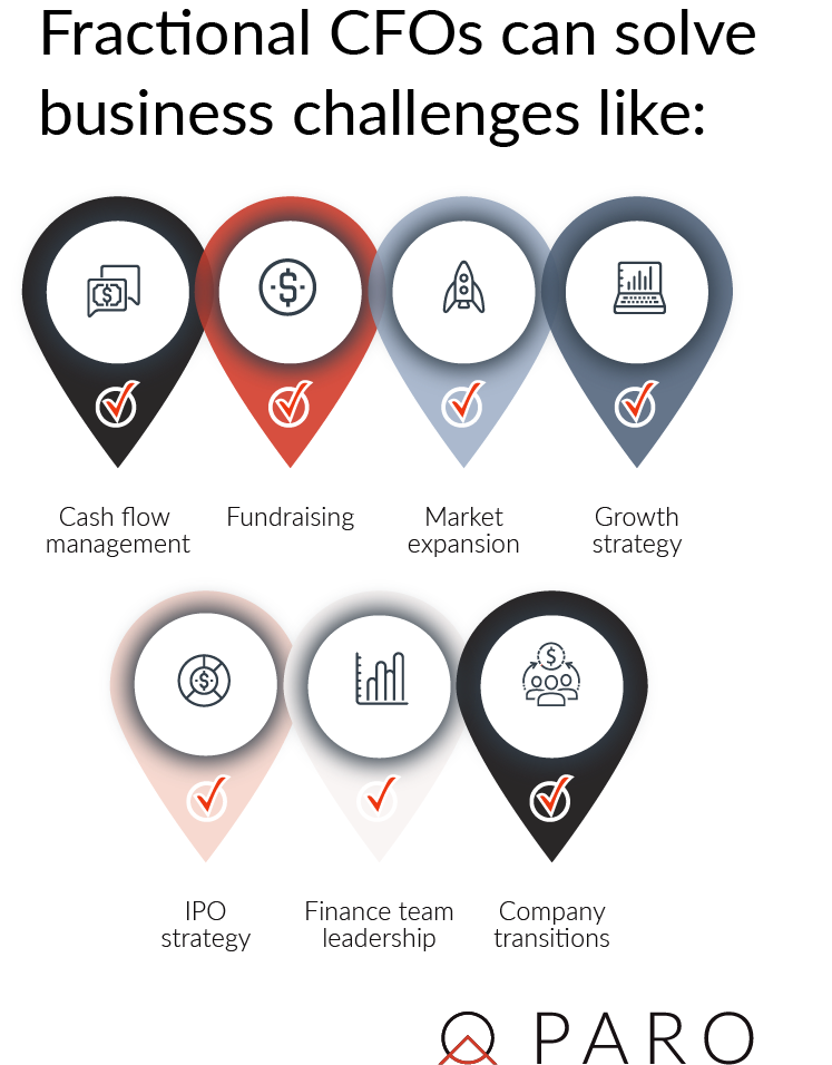 Business challenges fractional CFOs can solve