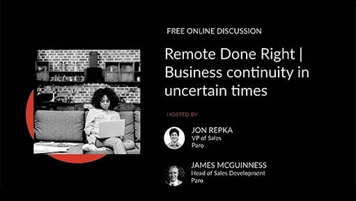Remote Done Right With Jon Repka VP Sales James McGuinness