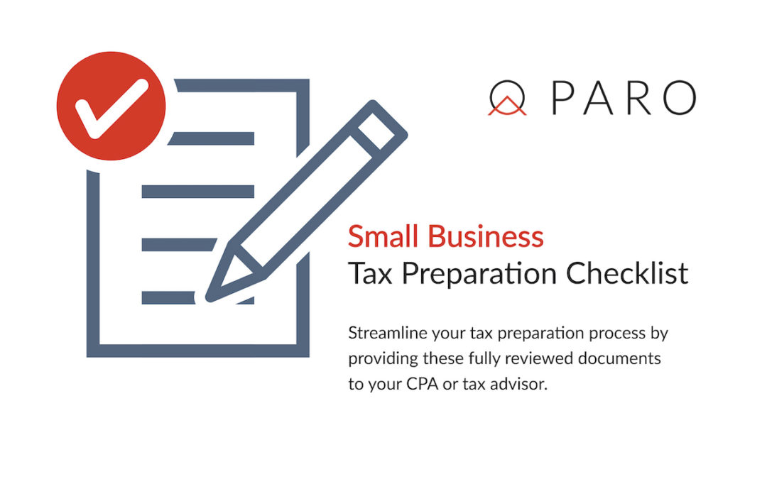 Your Must-Have Small Business Tax Preparation Checklist